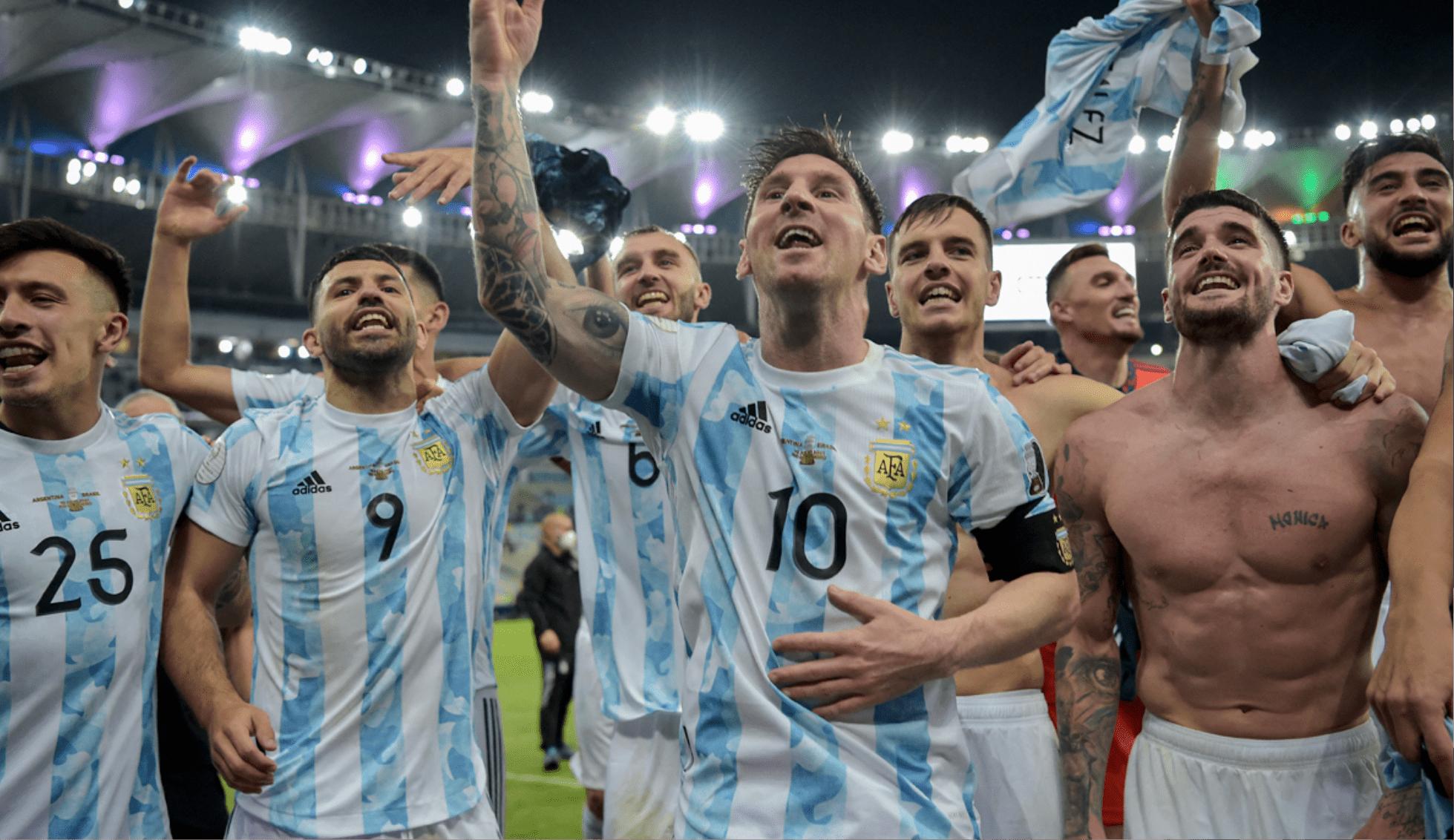 ¡La alegría es Argentina! El conjunto albiceleste se consagró campeón de la Copa América 2021