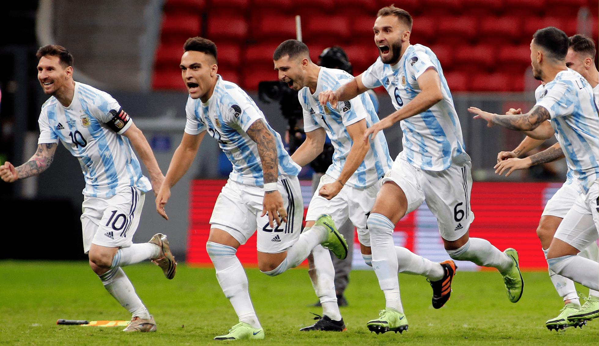 Por penales, Argentina consiguió su pase a la final